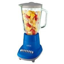 Sunbeam BLSBX4-BS 6 Speed Blender, Blue