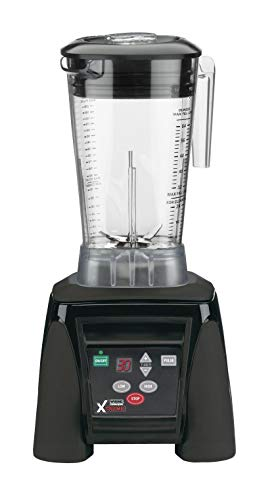 Waring Commercial MX1100XTX Hi-Power Electronic Keypad Blender with Timer and The Raptor Copolyester Container, 64-Ounce