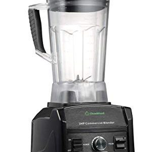 Blender By Cleanblend: Commercial Blender, Mixer, Smoothie Blender, 64 Ounce BPA Free Container, Stainless Steel 8 Blade Assembly, Variable Speed, Pulse, Tamper, Nut Milk Bag, Spatula, 3 HP 1800 Watts Review