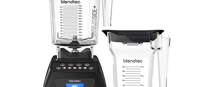 Blendtec Classic 575 Blender with Wildside+ Jar (90 oz) and FourSide Jar (75 oz) BUNDLE, Professional-Grade Power, Self-Cleaning, 4 Pre-programmed Cycles, 5-Speeds, Black, Review