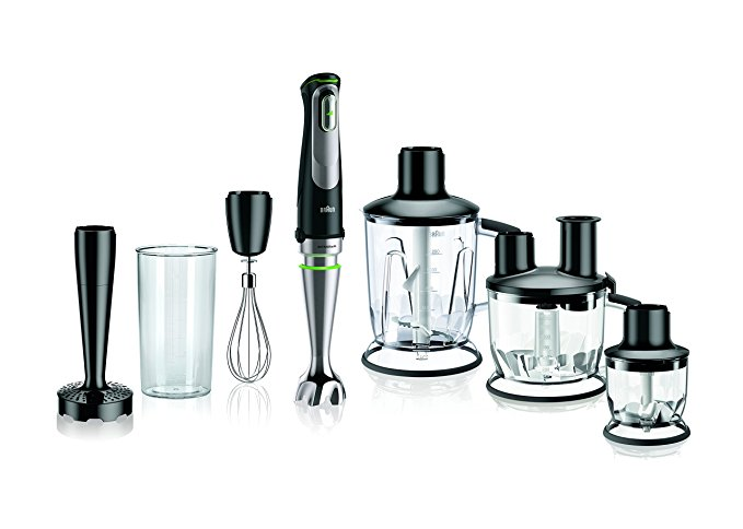 Braun MQ9097 Multiquick Hand Blender, Black