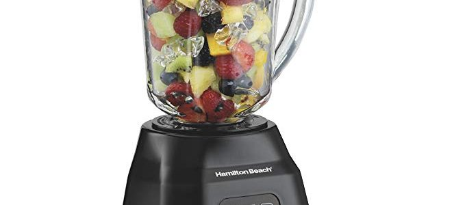 Hamilton Beach Smoothie Smart Blender with 40 oz Glass Jar & 700 Watts (56207) Review