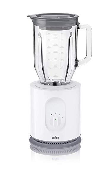 Braun JB5050 WH 220V/900W Blender (Non-USA Compliant), White, 1.6 L