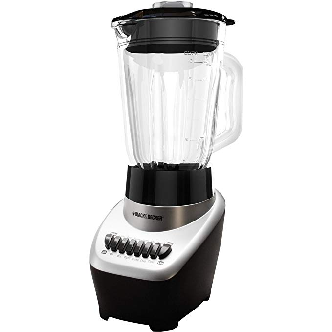 Black & Decker BL1120SG FusionBlade Advanced 12 Speed Blender, Silver